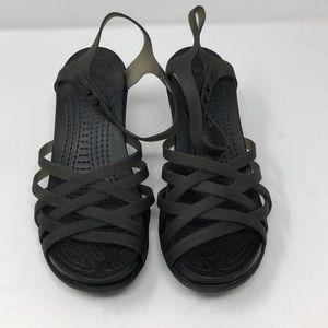 Crocs Wedges Size 6